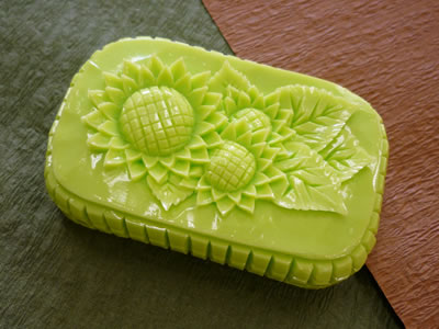 ロコアロマソープ|スパークライム|彫りやすい石鹸|カービング石鹸