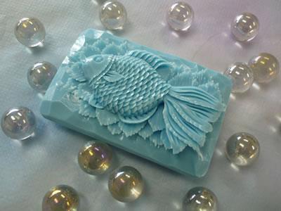 ロコアロマソープ|ブルーハワイ|彫りやすい石鹸|カービング石鹸