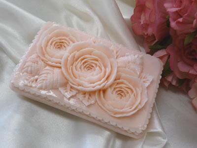 ロコアロマソープ|マーメイドグァバ|彫りやすい石鹸|カービング石鹸