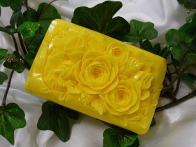 ロコアロマソープ|サンダーパイン|彫りやすい石鹸|カービング石鹸