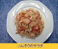 ソムオウのサラダ